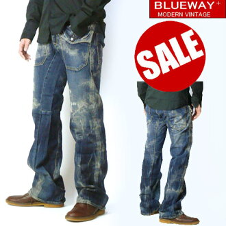BLUEWAY (blue WA) M1270-Flare Work Jeans (jeans フレアーワーク)-