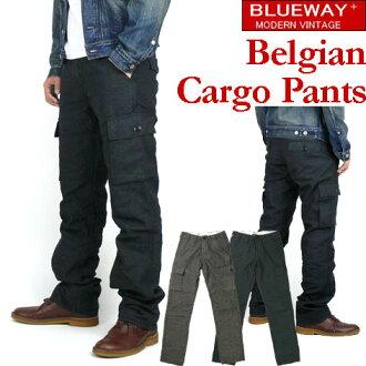 BLUEWAY (blueway ) Belgian Cargo Pants - ベルギアン cargo pants - M1662