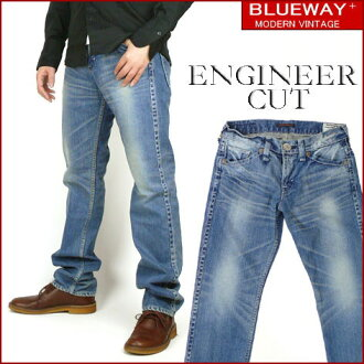 BLUEWAY (blueway ) M1634-ENGINEER IN CUT / engineer in cutting - ビンテージフェード