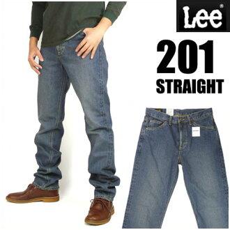 LEE (Lee ) 201 / Lee Riders - distressed blue - AMERICAN STANDARD