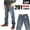 【送料無料】 LEE (リー) 201/Lee Riders -ユーズドブルー- AMERICAN STANDARD 大きめサイズ(38インチ/40インチ/42インチ/44インチ/46インチ/48インチ/50インチ)あります♪ 【smtb-k】【ky】