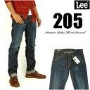 Lee リー メンズ ジーンズ 205 タイトストレート 濃色ユーズドブルー Lee RIDERS AMERICAN RIDERS 日本製 LM5205-526