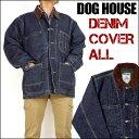 DOG HOUSE (ドッグハウス)DENIM COVERALL JACKET/デニム カバーオールジャケット660099【smtb-k】【ky】