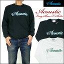 ACOUSTIC (アコースティック) 長袖Tシャツ/ACOUSTIC AC5313 【smtb-k】【ky】