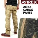 AVIREX アビレックス AERO CARGO PANTS エアロ カーゴパンツ ミリタリーパンツ メンズ 6166112 6166113
