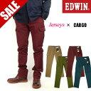 43 OFF セール EDWIN エドウィン メンズ カーゴパンツ ジャージーズ テーパードカーゴパンツ ERKC07 送料無料