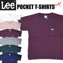 セール Lee リー レディース ルーズフィット ポケットTシャツ ワンポイント半袖Tシャツ LS7356