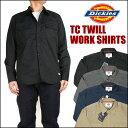 Dickies (ディッキーズ) TCツイル ワークシャツ 151M20WD13 【送料無料】プレゼント ギフト