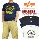 【ポイント最大14倍! *要エントリー*】【20%OFFセール】 ALPHA (アルファ) 半袖Tシャツ/SEABEES TC1097 mth-ts