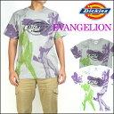 Dickies (ディッキーズ) X EVANGELION (エヴァンゲリオン) 半袖Tシャツ/エヴァンゲリオン