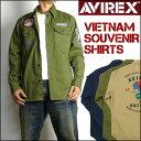 AVIREX (アビレックス) VIETNAM SOUVENIR SHIRTS -ベトナム スーベニア シャツ/長袖シャツ- 6165135 【送料無料】 mt...