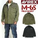 AVIREX アビレックス メンズ M-65 フィールドジャ...