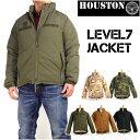 HOUSTON ヒューストン メンズ ミリタリージャケット LEVEL7 JACKET レベル7 ジャケット 50323 【送料無料】