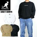 セール KANGOL カンゴール 長袖Tシャツ ワンポイント ロゴ刺繍 Tシャツ メンズ レディース ユニセックス 9173-9017A