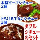 ビーフ&牛タンのダブルシチューセット・2セット以上送料無料【洋風惣菜】【オードブル】牛肉 パーティー料理 ディナー 02P03Dec16