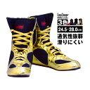 ボクシングシューズ ロングタイプ EasyChange イージーチェンジ(ボクシング用靴 ボクシング用品 24.5cm 25cm 25.5cm 26cm 26.5cm 27cm 27.5cm 28cm ゴールド ブラック レッド )