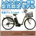 【送料無料】型式認定モデル! TSマーク(保険)入れます! 電動アシスト自転車 電動自転車【完成車で発送可能】
