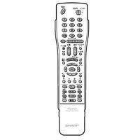 GA545PA シャープ (SHARP) 保守部品 リモコン 0046380178