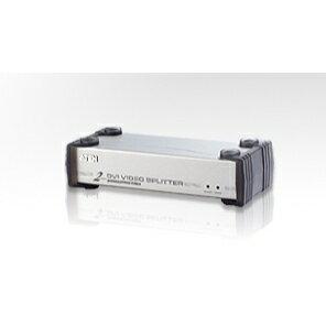 【割引クーポン配布】VS-162 ATEN 1入力 2出力 DVI + オーディオ分配器