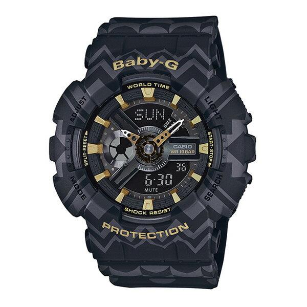 【割引クーポン配布中】【新品】【国内正規品】CASIO/カシオ BA-110TP-1AJF Baby-G Tribal Pattern Series 腕時計 ★