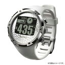 【割引クーポン配布】【特典付き】【数量限定】W1-FW-W テクタイト Shot Navi ホワイト 腕時計型タイプ ショットナビ