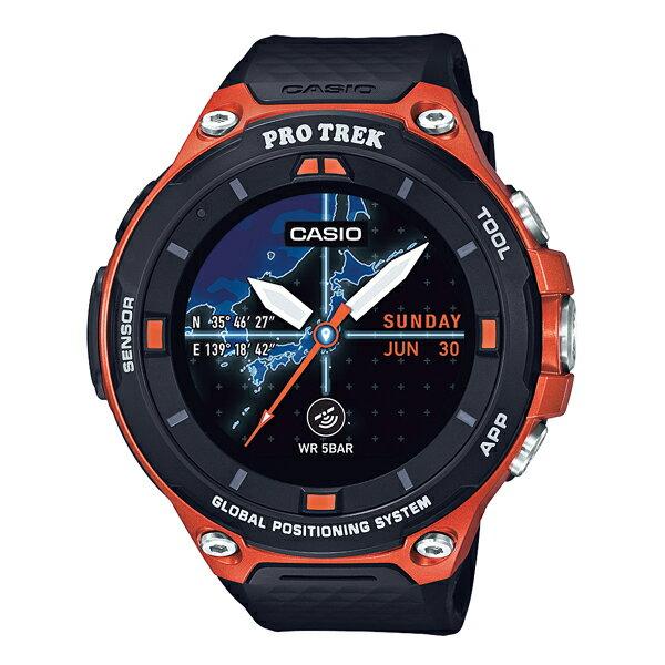 【割引クーポン配布】【数量限定】【新品】【国内正規品】CASIO/カシオ WSD-F20-RG PROTREK Smart (Smart Outdoor Watch / スマートアウトドアウオッチ) オレンジ 腕時計 ◆