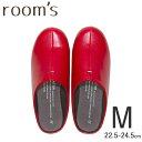 RoomClip商品情報 - rooms ルームズ スリッパ ルームシューズ Mサイズ 22.5-24.5cm Red レッド 赤 フロンティア FRONTIER FR-0001-M-RD 【有料ラッピング対象】