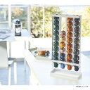 【割引クーポン配布中】tower タワー コーヒーカプセルホルダー S ( ネスプレッソ 用 ) ホワイト 白 03895 03895-5R2 山崎実業 YAMAZAKI タワーシリーズ 【あす楽】