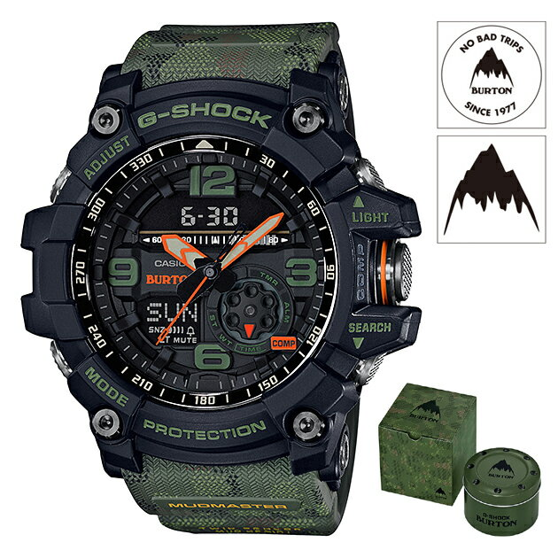 【数量限定】【新品】【国内正規品】CASIO/カシオ GG-1000BTN-1AJR G-SHOCK MUDMASTER BURTON 腕時計 ◆