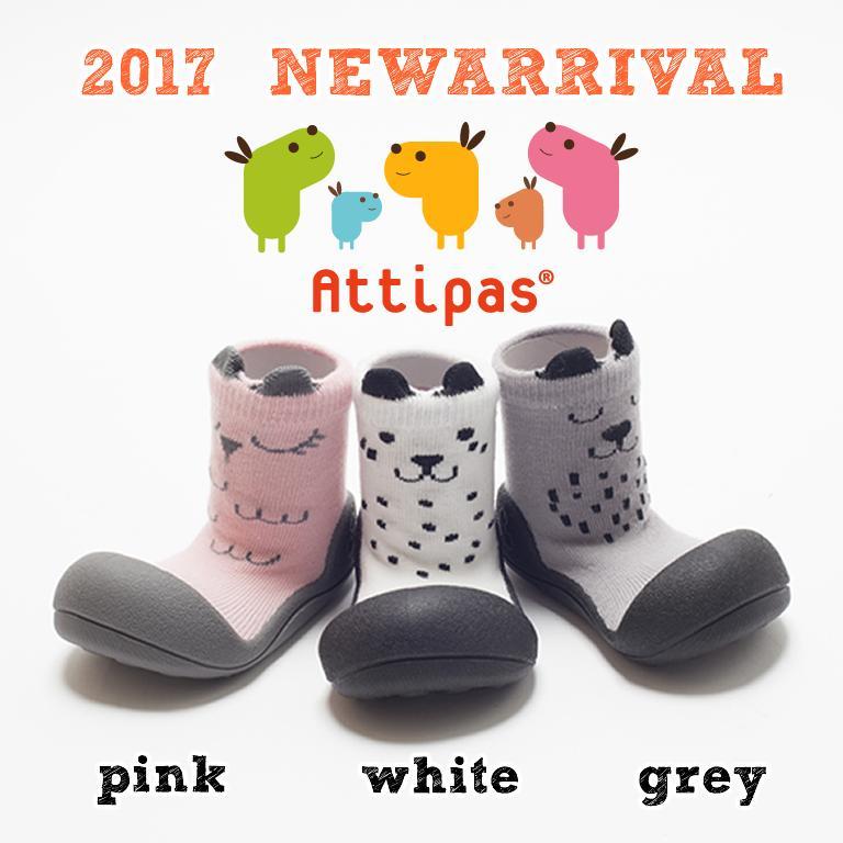【送料無料】Attipas [ アティパス ]ベビーシューズ [ cutie キューティー ]1歳誕生日プレゼント ファーストシューズ ソックスシューズ ベビー靴