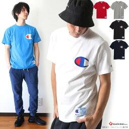国内正規品 CHAMPION/チャンピオンACTION STYLE ビッグロゴTシャツ C3-F362 ◇