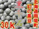 【即納】送料無料でポイント10倍!1kあたり1600円!北海道産、幻の黒豆!【黒千石】(30kg入)