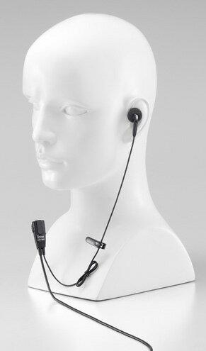 《HM-166》(アイコム/タイピン付き小型イヤホンマイク)特定小電力無線機 IC-4088 用