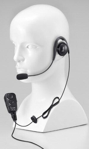 【最大2000円クーポン&エントリーでP5倍】《HS-94+VS-2L》(アイコム/イヤーフック型ヘッドセット)手を使わずに通話できるVOX対応スイッチユニット(VS-2L)付き 特定小電力無線機 IC-4100 / IC-4110 用