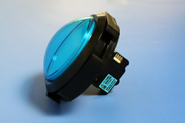 ♪音ゲー♪【メーカー純正品】照光式押しボタン薄型ドーム 100φ(マイクロスイッチ一体型)(ランプ無し)【OBSA-100UMQ】