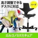 【送料無料】パソコンチェア エルゴノミクスチェア 人間工学 オフィスチェア 高さ調節 上下昇降デスク対応 HAG・Capisco Puls 椅子 [150-SNCERG1]【サンワダイレクト限定品】