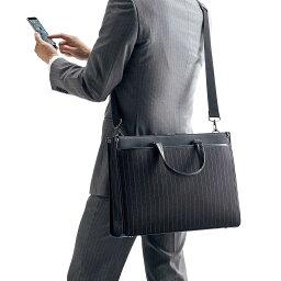 2WAYビジネスバッグ 15.6インチ 軽量 スリムなのに大容量 手提げ・ショルダーの2WAY A4書類収納可 メンズ <strong>パソコンバッグ</strong> ビジネスバック PCバッグ 通勤 50代 60代 ブリーフケース