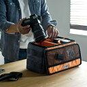 カメラインナーバッグ Lサイズ アルファインダストリーズ ショルダーベルト付 カメラ
