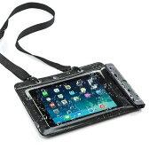 iPad・タブレット 防水ケース iPad Air&10.1インチ対応 スタンド機能付 防水カバー 海・プール・お風呂に [200-PDA127]【サンワダイレクト限定品】