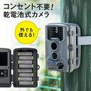 防犯カメラ トレイル セキュリティー ハンティングカメラ 写真 動画 自動撮影 不可視赤外線LED内