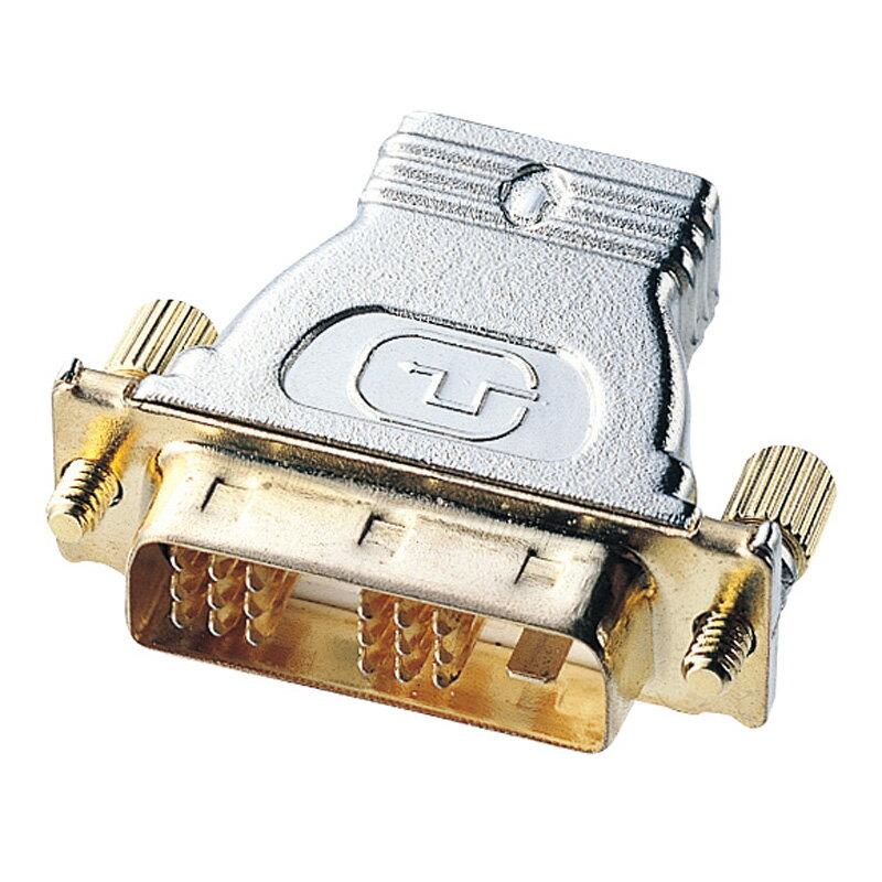 HDMIアダプタ 変換アダプタ HDMIケーブルをDVIコネクタに接続 (HDMIメス-DVI24pinオス) [AD-HD02]【サンワサプライ】