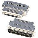 SCSIアダプタ(ピンタイプハーフ50pinメス-セントロニクス50pinオス)[AD-P50CK]【送料無料】