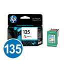 【送料無料】純正インク HP HP135 C8766HJ (3色カラー) プリントカートリッジ 【ヒューレットパッカード】