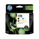 HP 純正インク HP178 CB316HJ (4色マルチパック) プリントカートリッジ 【ヒューレットパッカード】【送料無料】