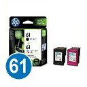 【送料無料】純正インク HPHP61 (ブラック・カラーパック) プリントカートリッジ 【ヒューレットパッカード】