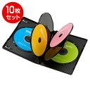 DVDトールケース(6枚収納・10枚パック・ブラック・14mm)[DVD-TN6-10BK]