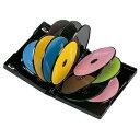 DVD保管ケース(12枚収納・ブラック・27mm)[DVD-TW12-01BK]
