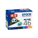Genuine ink Epson IC4CL46 (four-colored pack) ink cartridge soccer ball [EPSON]