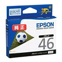 Genuine ink Epson ICBK46 (black) ink cartridge soccer ball [EPSON]