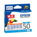 Pure ink Epson ICC50 (cyan) ink cartridge balloon [EPSON]